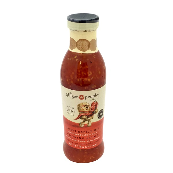 The Ginger People Sweet Ginger Chili Sweet & Spicy Dip Cooking Sauce