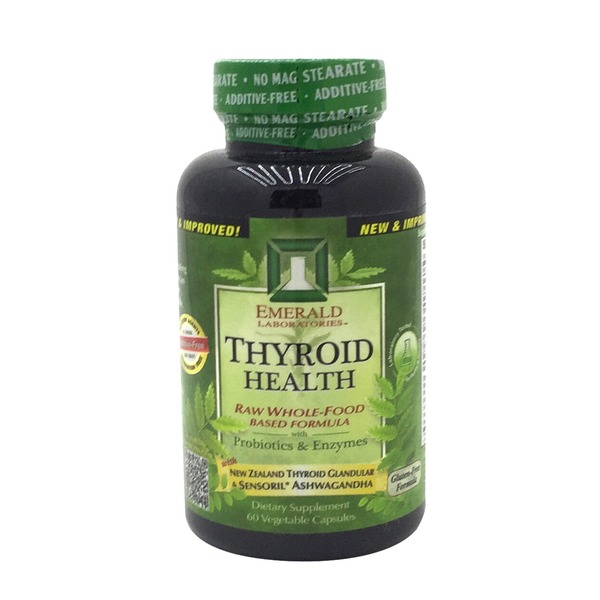 Emerald Cove Thyroid Health Raw Whole Food Based Formula