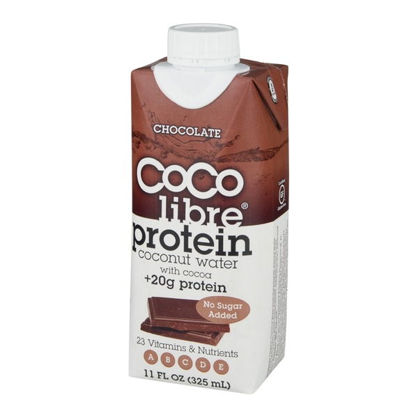 Coco Libre Organic Protein Coconut Water With Cocoa