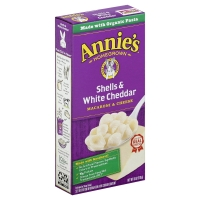 Annies Homegrown Macaroni & Cheese Shells & White Cheddar