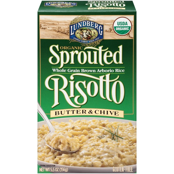 Lundberg Family Farms Organic Butter & Chive Sprouted Risotto