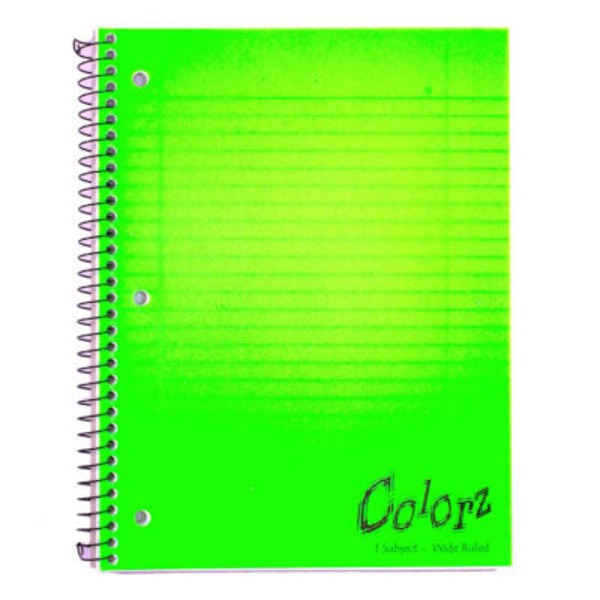 Norcom 1 Subject Wide Ruled 90 Sheets Notebook