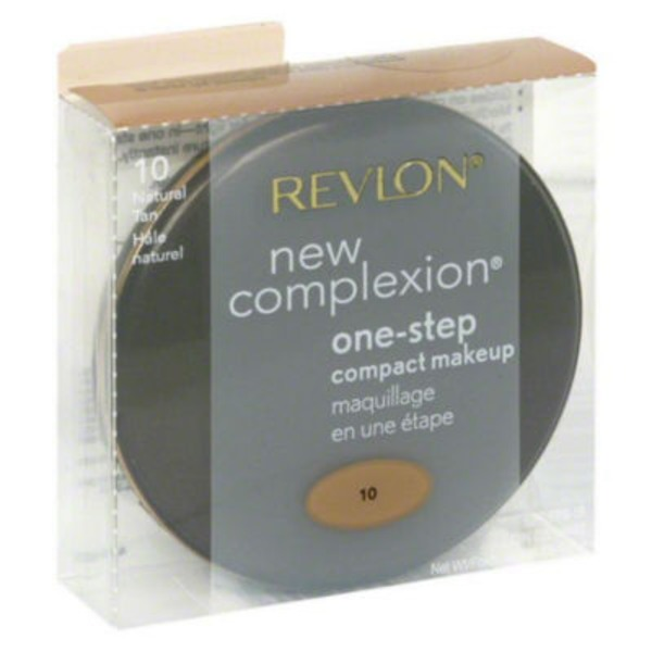 Revlon New Complexion Makeup Compact One-Step Natural Tan 10