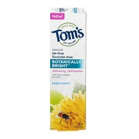 Tom's of Maine Botanically Bright Whitening Toothpaste Peppermint