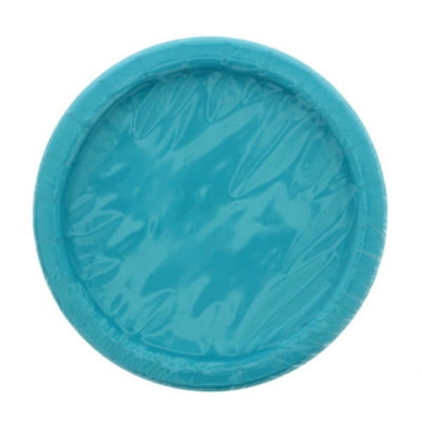 Unique Caribbean Teal Plates