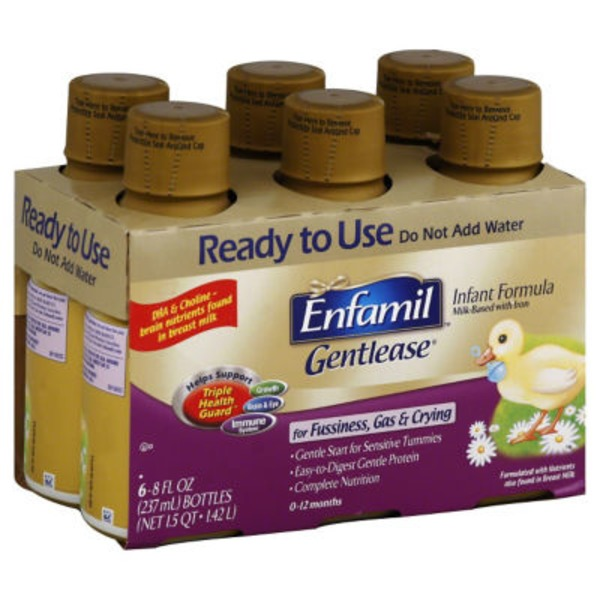 Enfamil Gentlease Gentlease Milk-based with Iron Infant Formula
