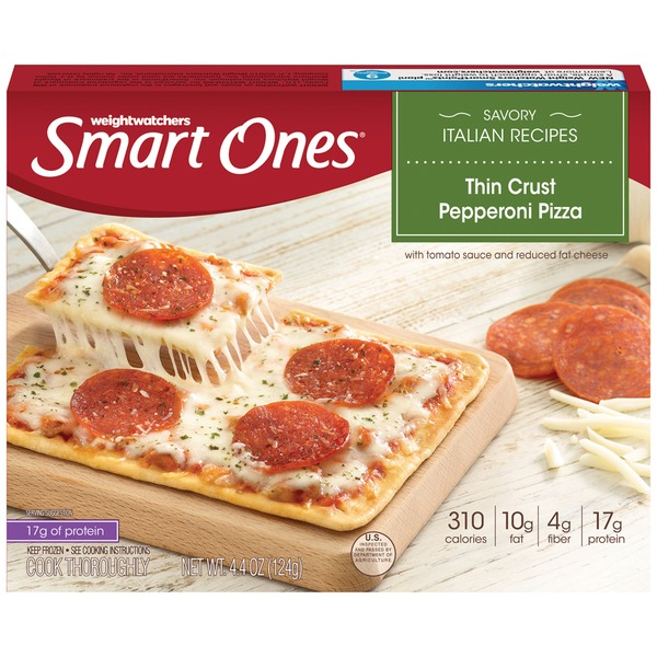 Weight Watchers Smart Ones Savory Italian Recipes Thin Crust Pepperoni Pizza