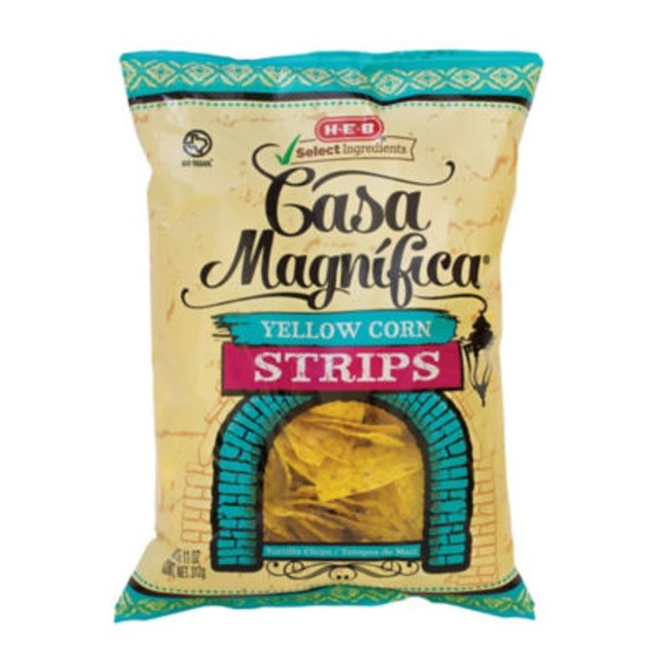 H-E-B Yellow Corn Tortilla Strips