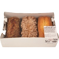 Kirkland Signature Assorted Loaves Banana Nut, Pumpkin Streusel, Butter Pound