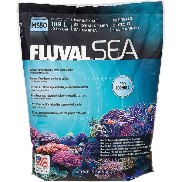Fluval Sea MS50 Marine Salt Pro Formula
