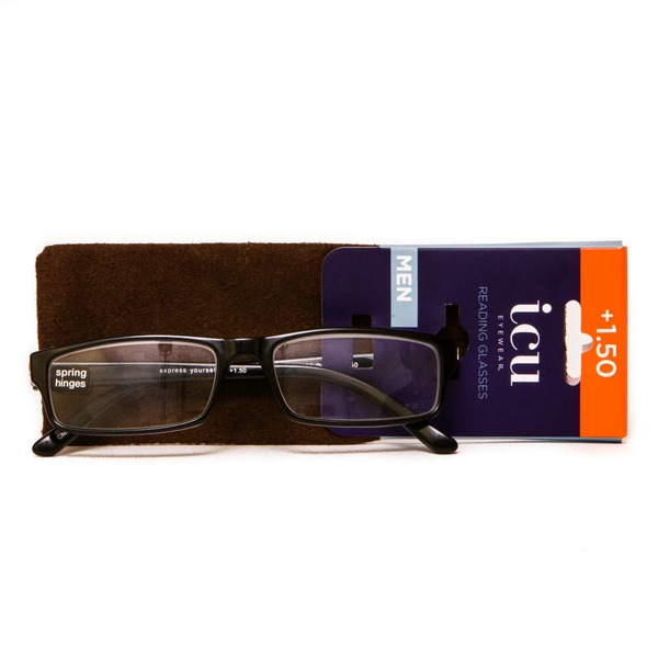 ICU Eyewear Assorted Mens Readers 1.50