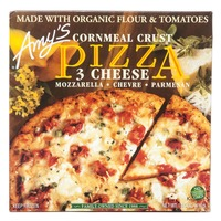 Amy's Pizza 3 Cheese Cornmeal Crust