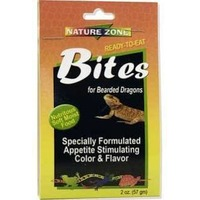 Nature Zone Ready to Eat Bites for Bearded Dragons Nutritious Soft Moist Food