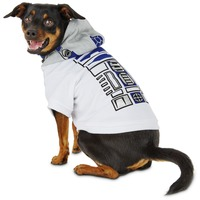 Star Wars R2 D2 Dog Hoodie Large