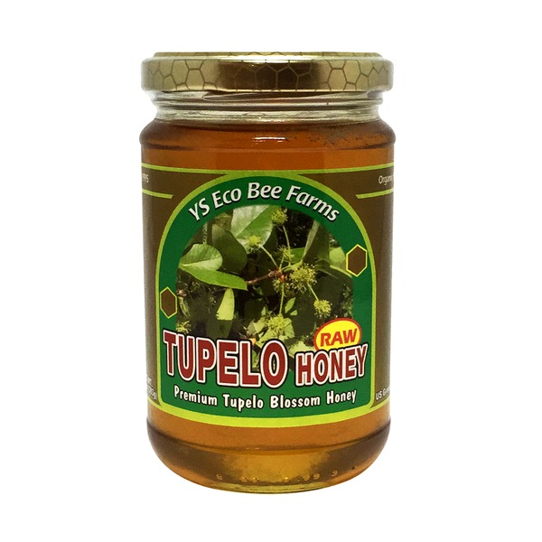 YS Eco Bee Farms Raw Tupelo Honey