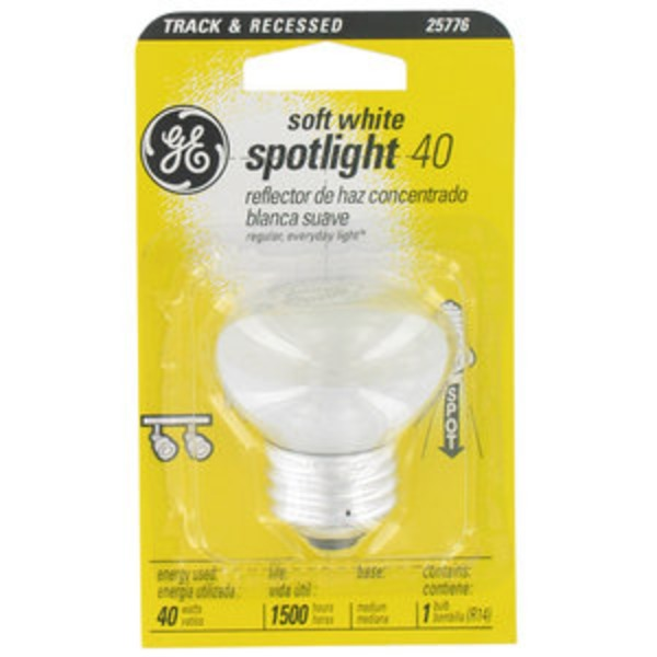 GE Track & Recessed Soft White Spotlight 40W