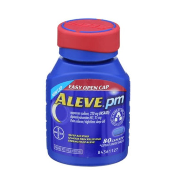 Aleve PM Caplets Pain Reliever/Sleep Aid