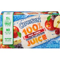 Caprisun Fruit Punch 100% Juice