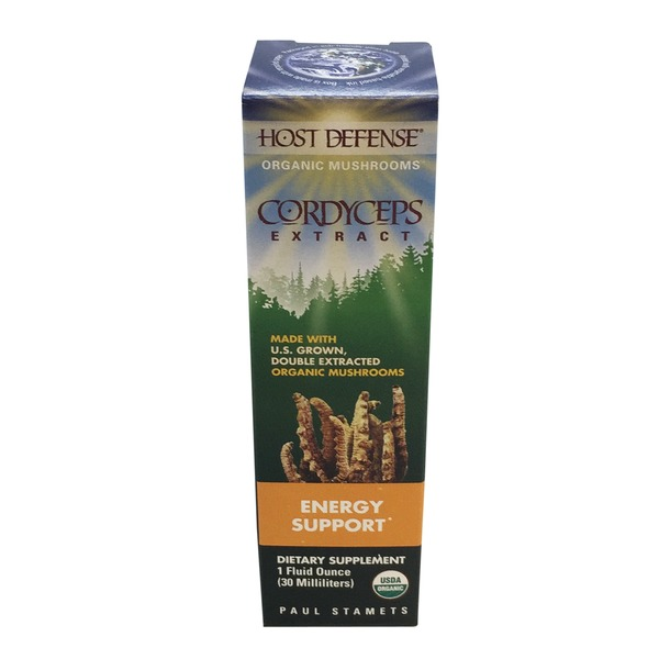 Host Defense Cordyceps Extract Energy Support