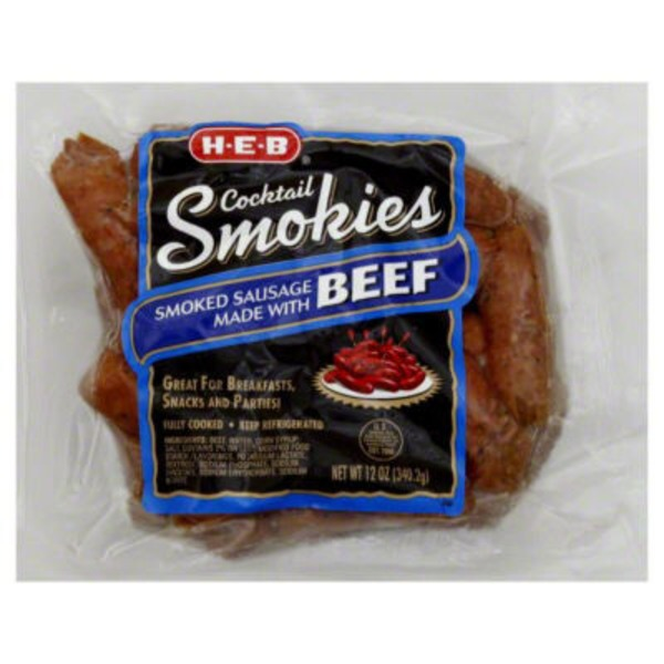 H-E-B Beef Cocktail Smokies