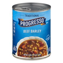 Progresso Soup, Traditional, Beef Barley Soup, 19 oz Can , 19.0 OZ