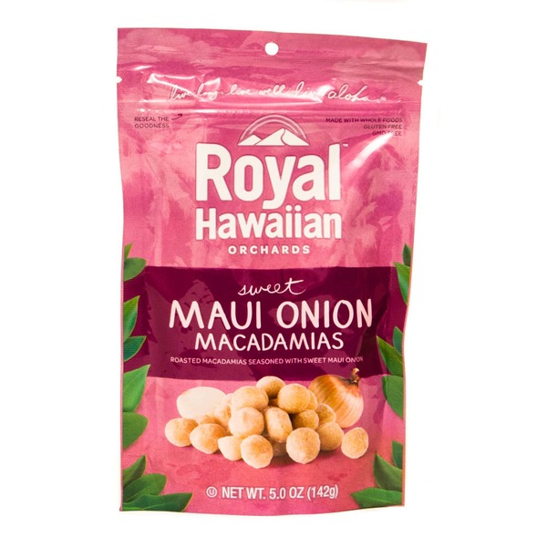 Royal Hawaiian Orchards Sweet  Maui Onion Macadamias