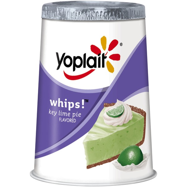 Yoplait Whips! Key Lime Pie Flavored Lowfat Yogurt Mousse