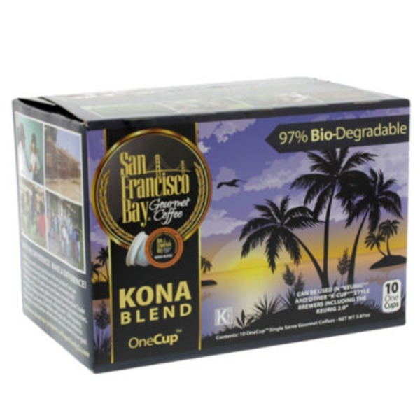 San Francisco Bay Gourmet Coffee Kona Blend