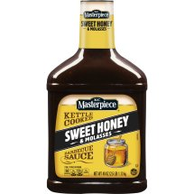 KC Masterpiece Sweet Honey and Molasses Barbecue Sauce, 40 Ounces
