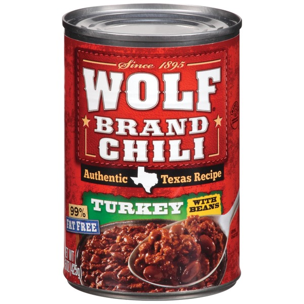 Wolf Turkey W/Beans Chili