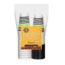 Comfort Cup By Chinet Cups & Lids, 16 Oz, 20 Count