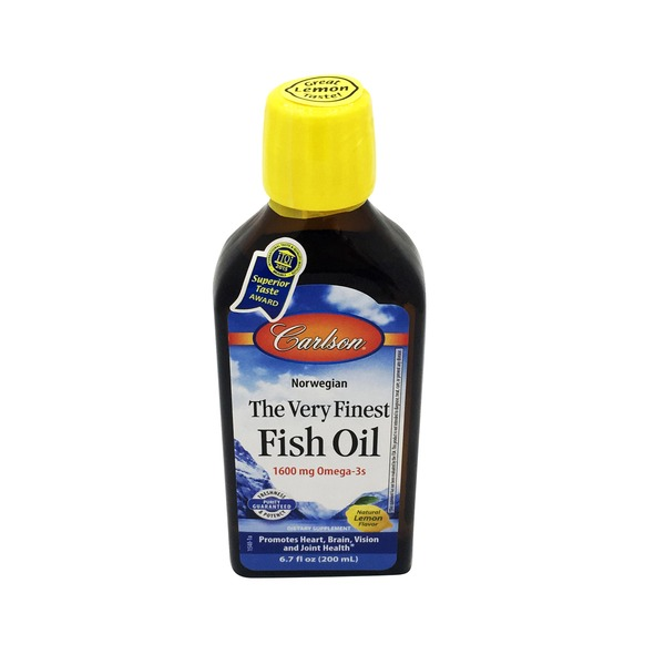 Carlson Labs Lemon Fish Oil