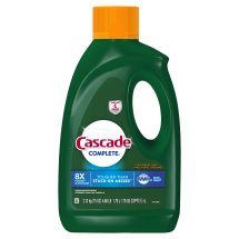 Cascade Complete Dishwasher Detergent Gel, Citrus Breeze Scent, 75 Fl Oz