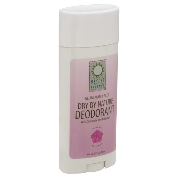 Desert Essence Deodorant, Dry by Nature, with Chamomile and Calendula