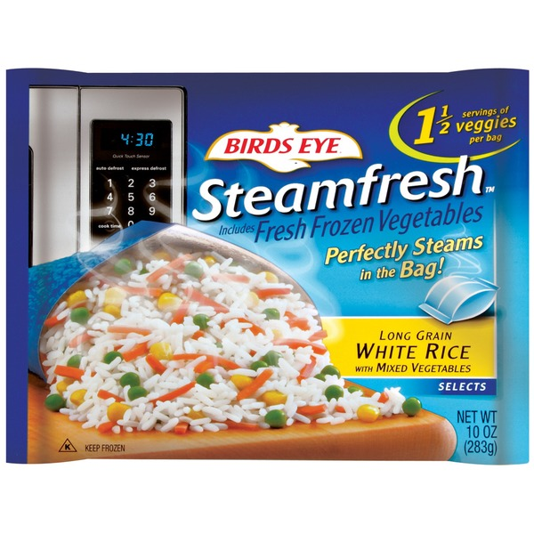 Steamfresh Long Grain White with Mixed Vegetables Rice
