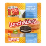Lunchables Cracker Stackers Turkey & American, 3.4 OZ
