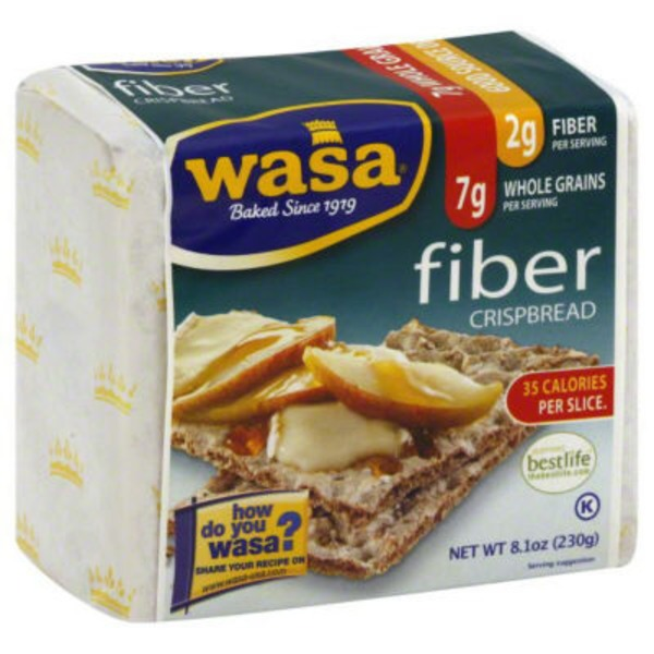 Wasa Fiber Whole Grain Crispbread