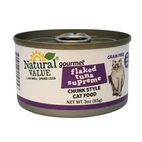 Natural Value Flaked Tuna Supreme Cat Food