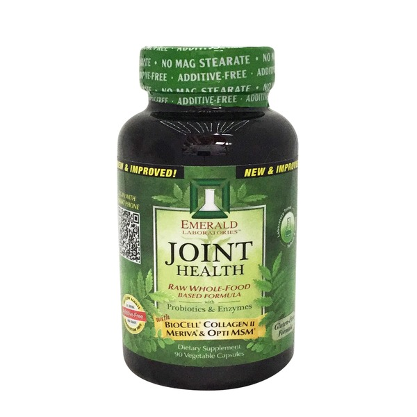 Emerald Laboratories Joint Health Raw Whole-Food Based Formula with Probiotics & Enzymes capsules