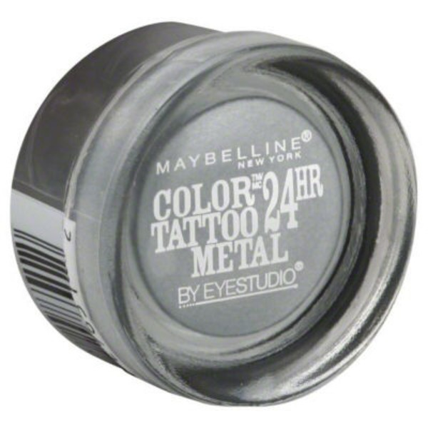 Eye Studio® Color Tattoo® Metal Silver Strike 24HR Cream Gel Eyeshadow