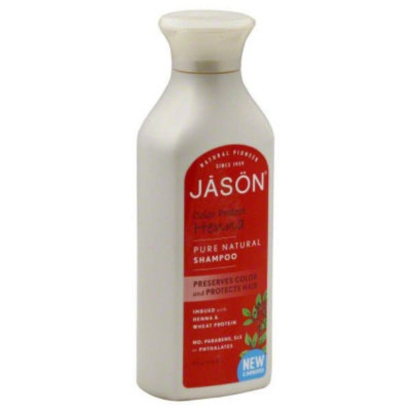 Jason Shampoo, Color Protect Henna, Bottle