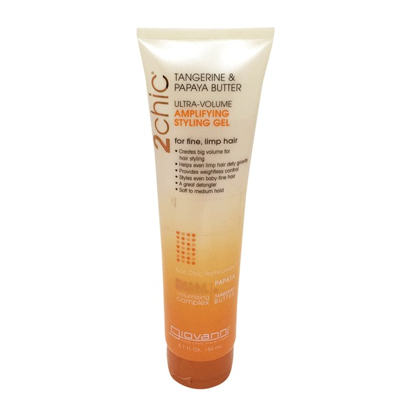 Giovanni Ultra-Volume Amplifying Styling Gel Tangerine & Papaya Butter