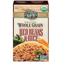 Lundberg Family Farms Organic Whole Grain Red Beans & Rice Rice & Seasoning Mix