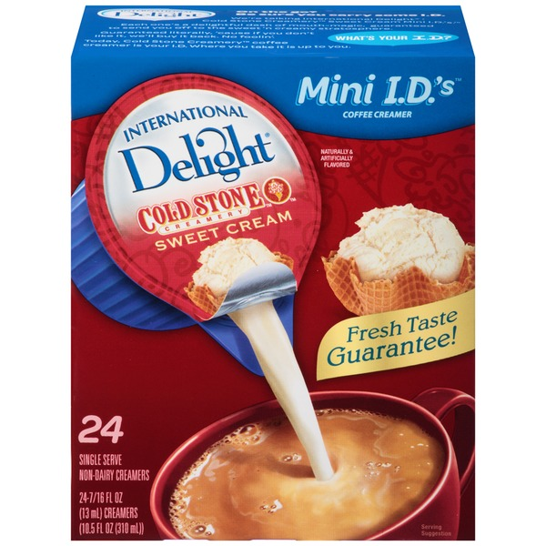 International Delight Mini I.D.'s Cold Stone Creamery Sweet Cream Non-Dairy Coffee Creamer