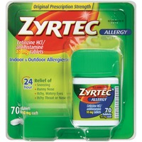 Zyrtec® Allergy 24 Hour 10mg Tablets