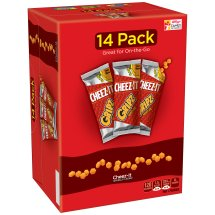 Cheez-It Gripz Baked Snack Crackers - 14 CT