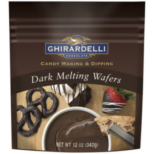 Ghirardelli Chocolate Dark Chocolate Melting Wafers
