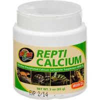 Zoo Med Repti Calcium With D3 Reptile Supplement