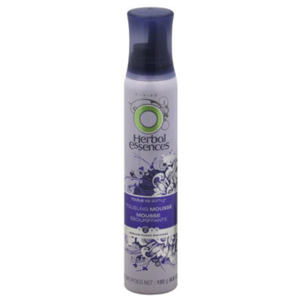 Herbal Essences Base Version Herbal Essences Tousle Me Softly Tousling Mousse 6.8 Fl Oz  Female Hair Care