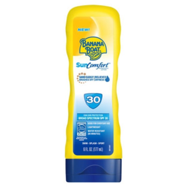 Banana Boat SunComfort SPF 30 Sunscreen Lotion